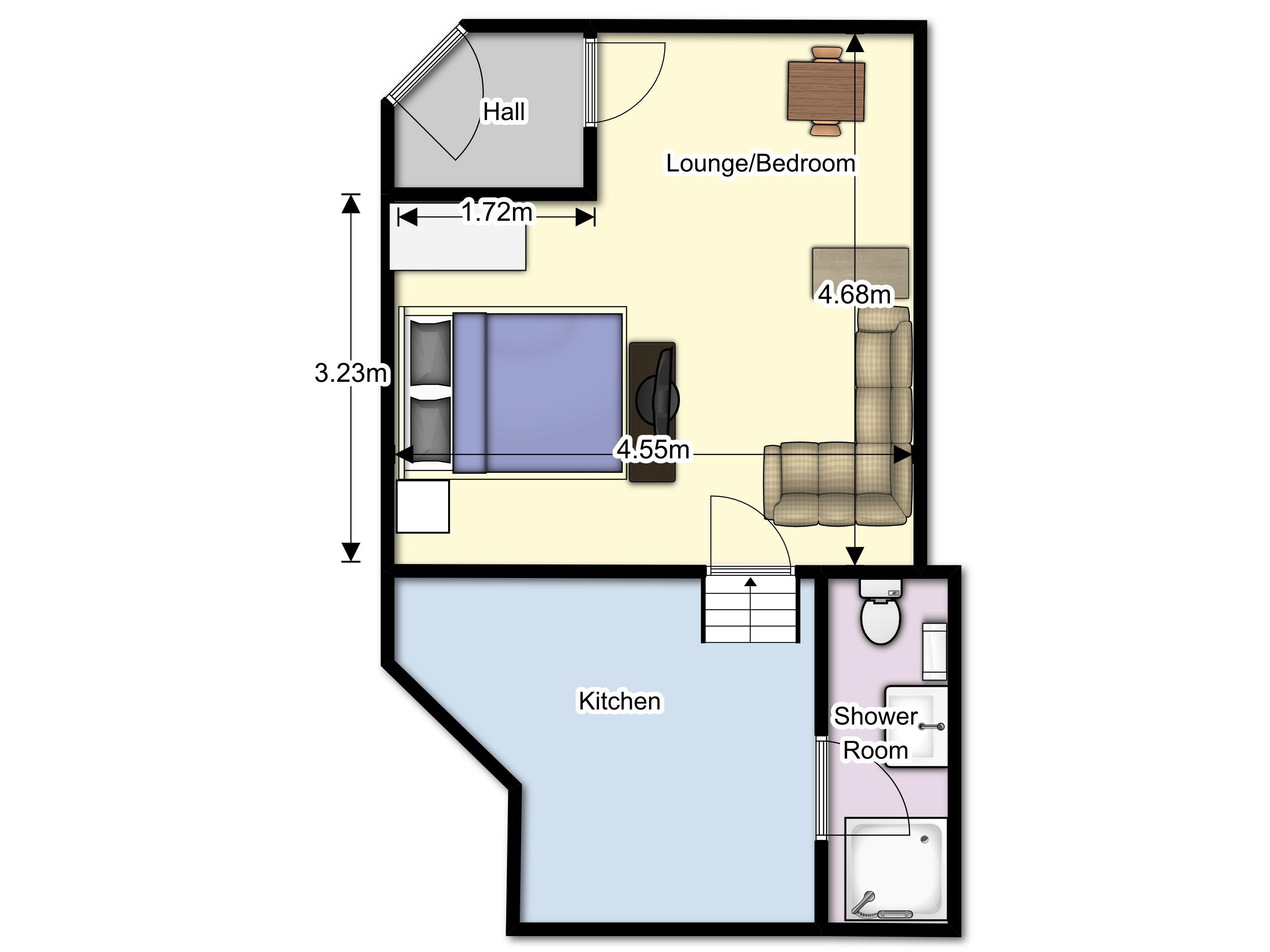 Manworthy Flat Floor Plan