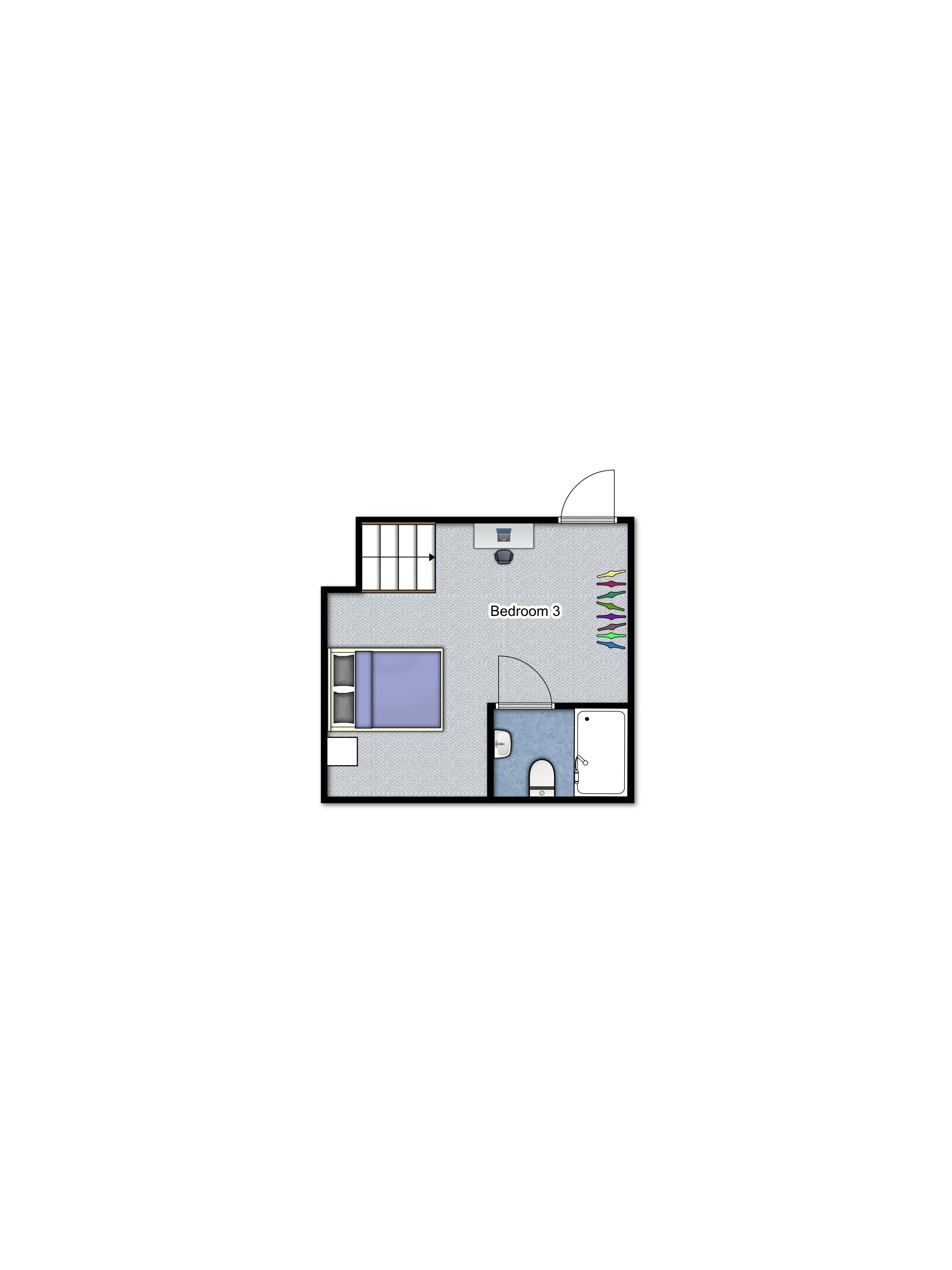 Summerhill Basement floorplan