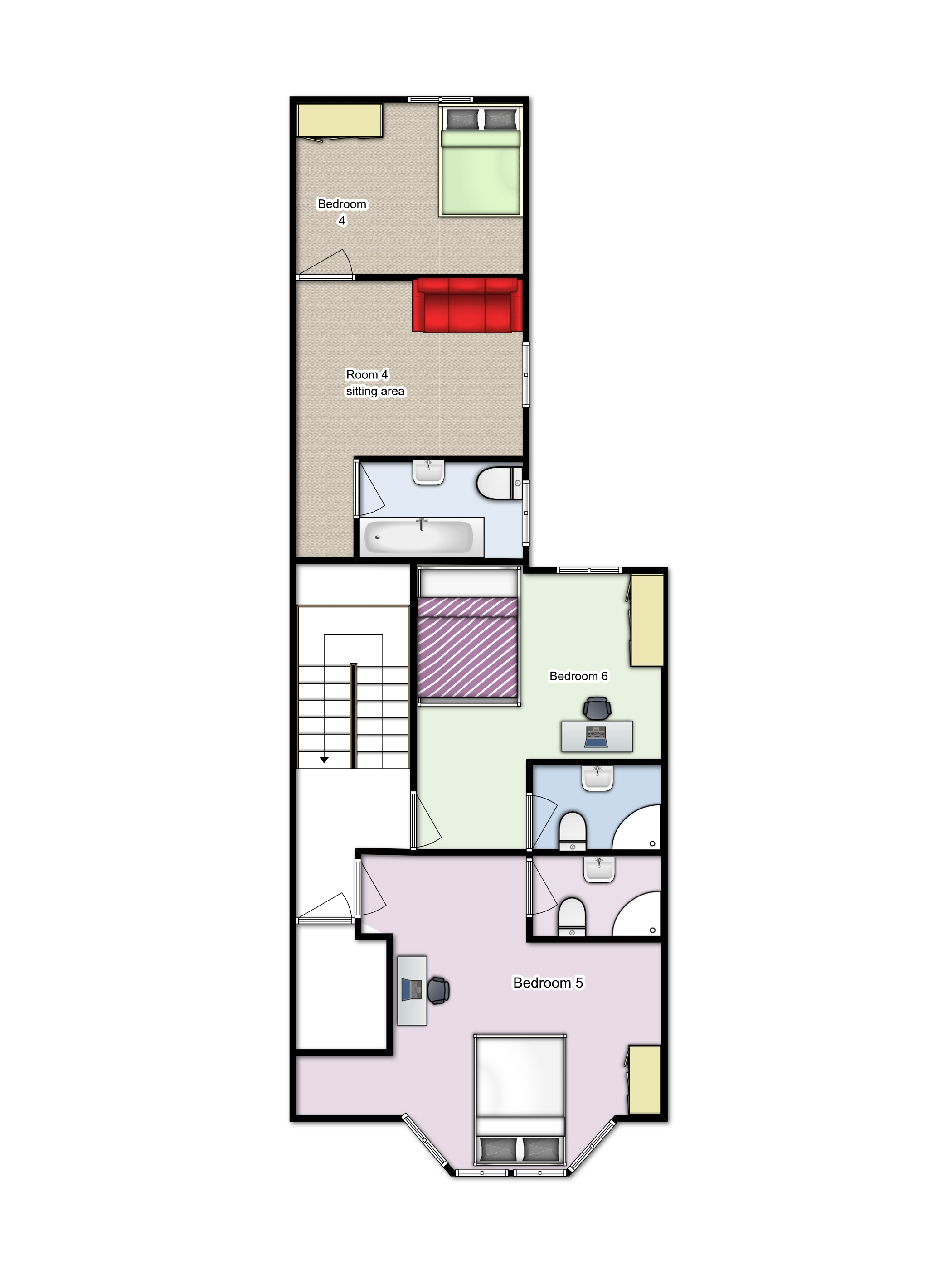 Summerhill First floorplan