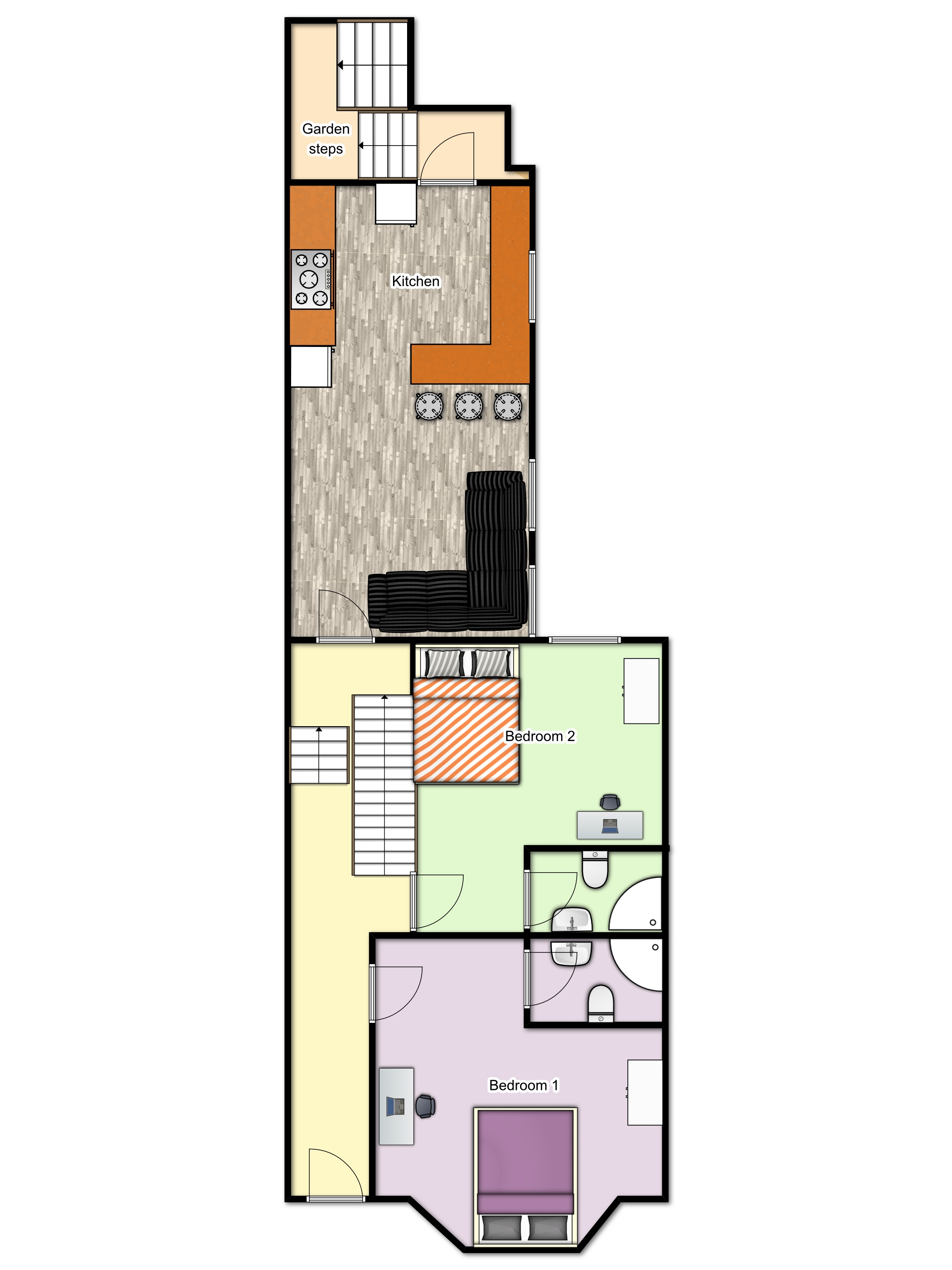 Summerhill Ground floorplan