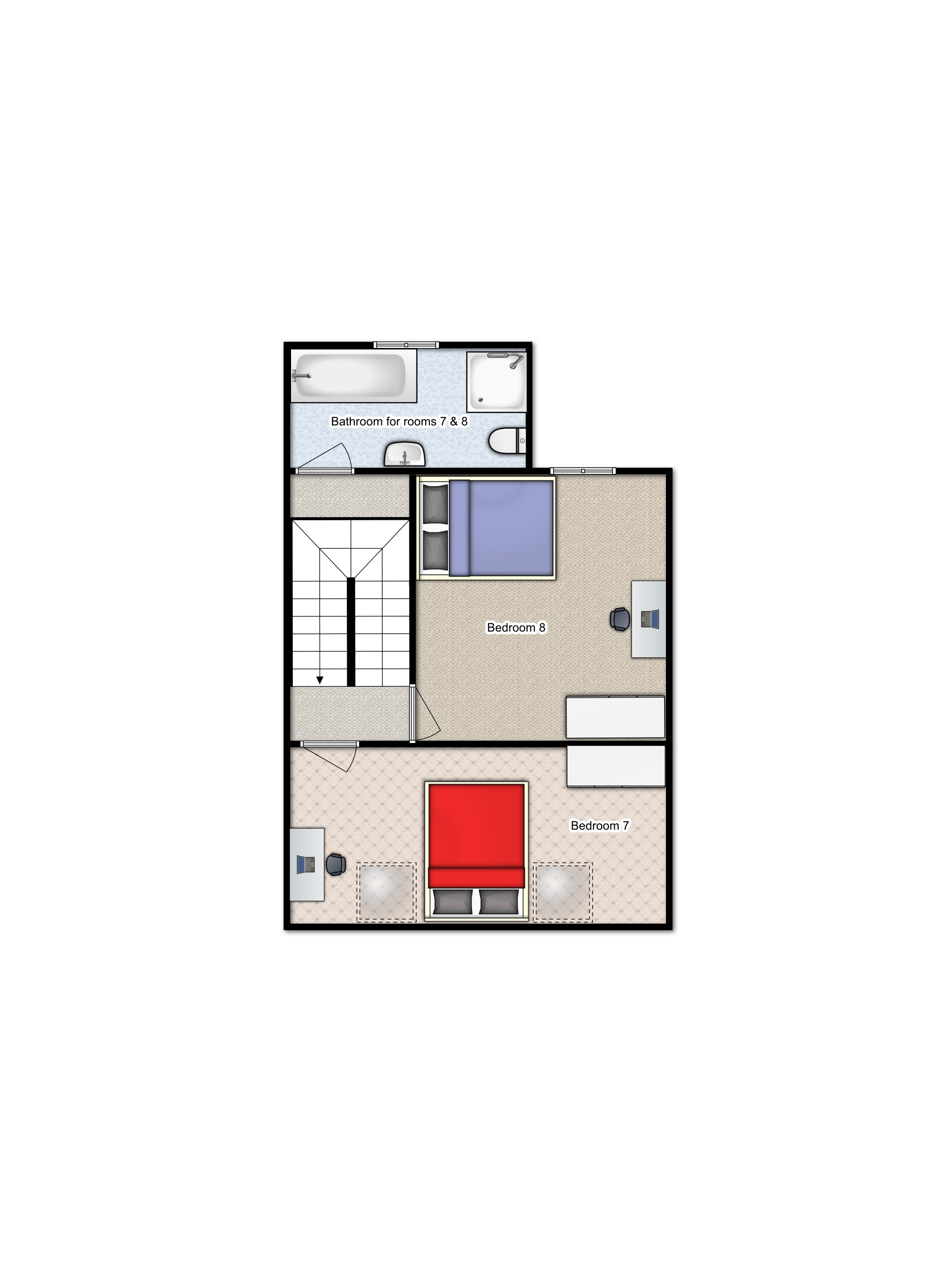 Summerhill Loft floorplan